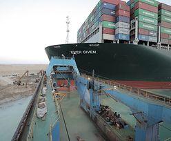 Koniec blokady Kanału Sueskiego. Statek towarowy uwolniony