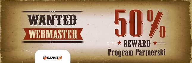 Program dla webmasterów - poleć nas 5 użytkownikom i zgarnij najwyższą prowizję