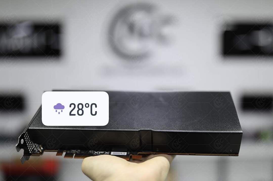 Nowości dedykowane kryptogórnikom. Tym razem w postaci dedykowanych kart graficznych AMD - Tajemnicza karta graficzna dla kryptogórników od AMD