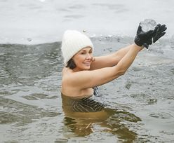 Anna Popek przyłapana na morsowaniu. Strój podkreśla jej figurę