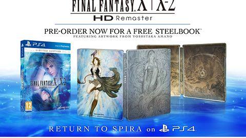 Final Fantasy X/X-2 HD trafi na PS4 w maju