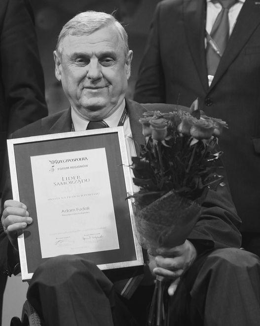 Adam Fudali z nagrodą dla Lidera Samorządu
