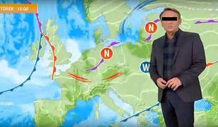 """Jacek S. prezentował pogodę w """"Panoramie"""""""
