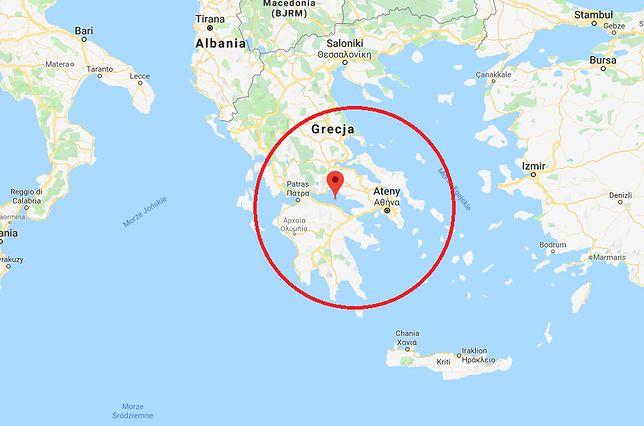 Sobotnie trzęsienie ziemi w Grecji zlokalizowane był w pobliżu zatoki Korynckiej