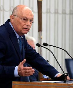 """Były marszałek Sejmu o reasumpcji głosowania: """"To przestępstwo"""""""