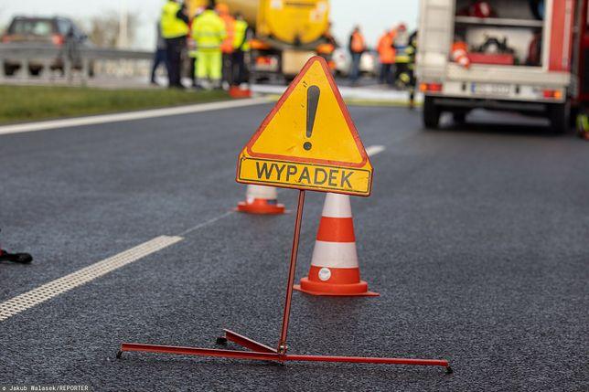 Wypadek na dk. 60. Nie żyje 27-letni motocyklista