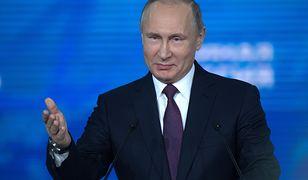 Prezydent Putin na konwencji partii Jedna Rosja