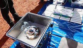 Japonia. Badaczom udało się uzyskać pył z asteroidy Ryugu
