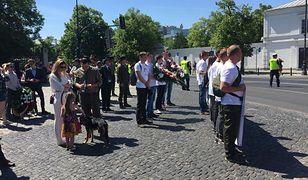 Leśnicy i myśliwi maszerują w Warszawie