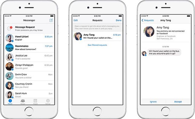 Facebook wprowadza SMS-y w komunikatorze Messenger