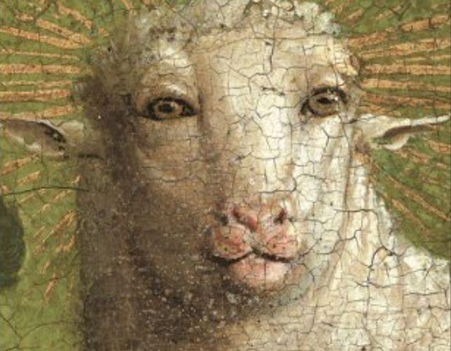 Renowacja XV-wiecznego obrazu. Prace odsłoniły ludzką twarz Baranka Bożego