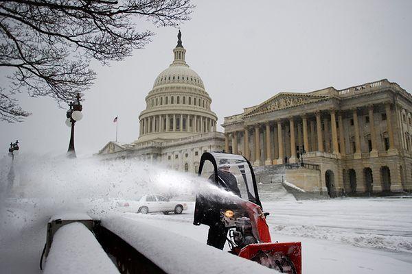 Znów śnieżyce na Wschodnim Wybrzeżu USA