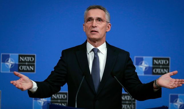 Przewodniczący Sojuszu Północnoatlantyckiego (NATO) Jens Stoltenberg