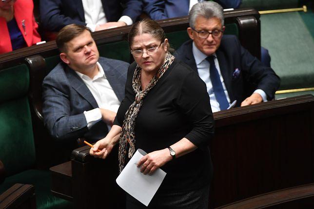 Krystyna Pawłowicz chce ukarania dwojga posłów Nowoczesnej