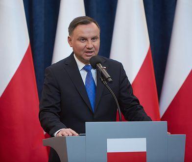 Koronawirus w Polsce. Andrzej Duda o ograniczeniach.