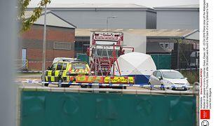 Wielka Brytania. Migranci, których ciała znaleziono w naczepie ciężarówki w Essex, pochodzili z Chin