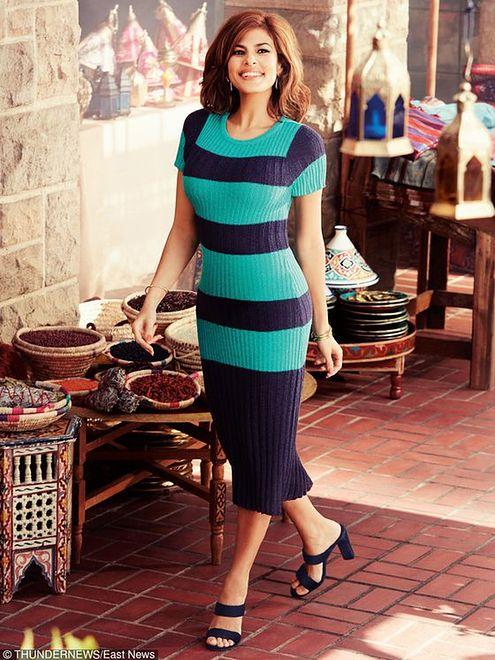 Eva Mendes w kampanii New York and Company