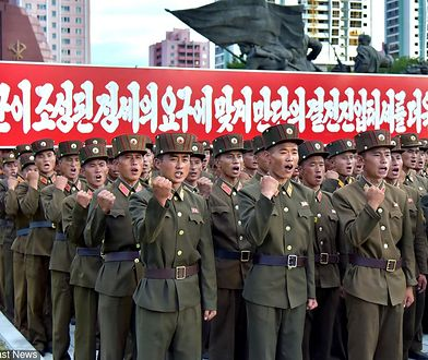 Korea Północna / Fot. EastNews / AFP PHOTO/KCNA VIA KNS