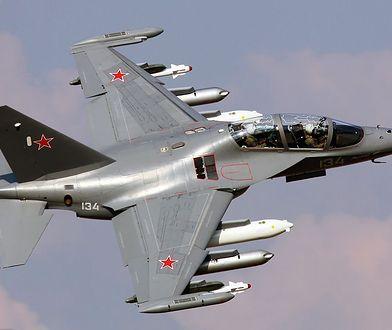 Jak-130 - rosyjski samolot z ukraińskimi silnikami