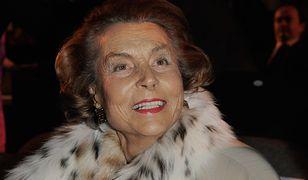 Bettencourt cierpiała na postępującą demencję