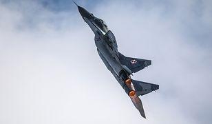 MiG-29 na pokazie lotniczym w Belgii