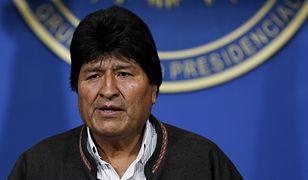 Prezydent Boliwii Evo Morales.