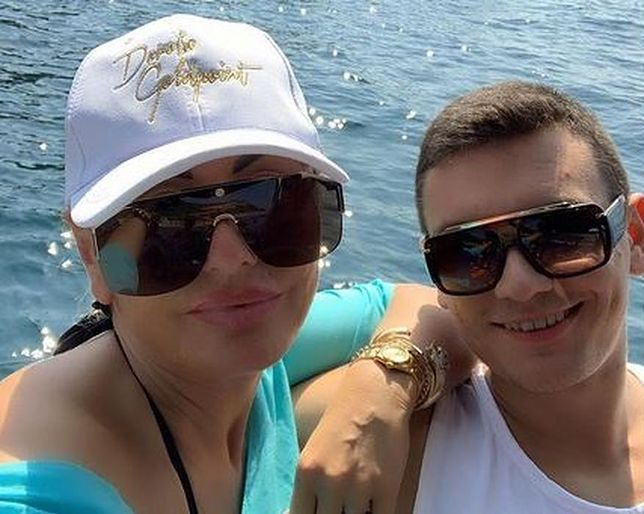Dagmara Kaźmierska z synem Conanem