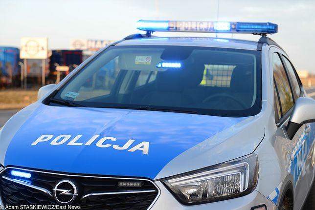 14-latka na widok policji, zaczęła uciekać