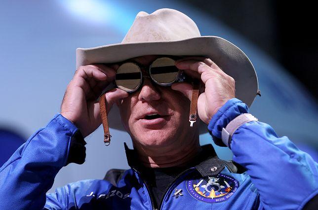 Jeff Bezos dziękuje za lot w kosmos. Jego słowa wywołały oburzenie
