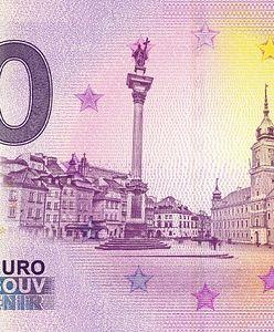 Euro w Polsce. Powstał banknot o nominale... 0 euro