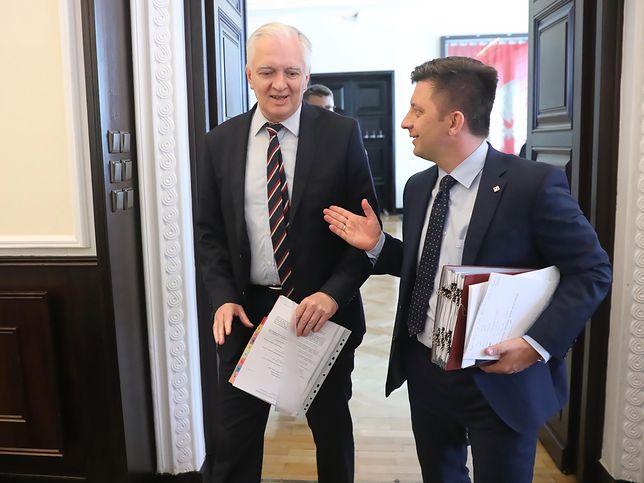 Jarosław Gowin i Michał Dworczyk