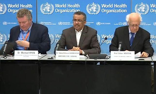 Koronawirus z Chin. WHO ogłasza światowe zagrożenie