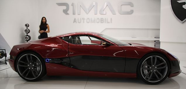 Rimac Concept_One: Elektryczne superauto z Chorwacji