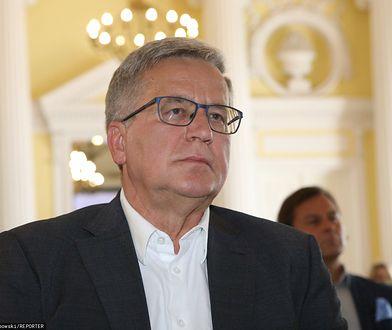 Komorowski o powrocie Tuska