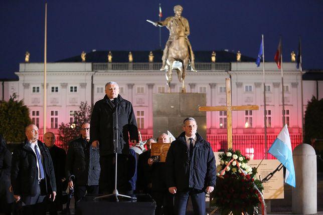 Kaczyński o kontrmanifestacji: nowy wielki atak nienawiści