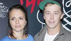 Bartosz Obuchowicz z żoną na salonach