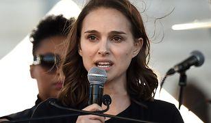 Natalie Portman wygłosiła przemówienie na Marszu Kobiet w Los Angeles.