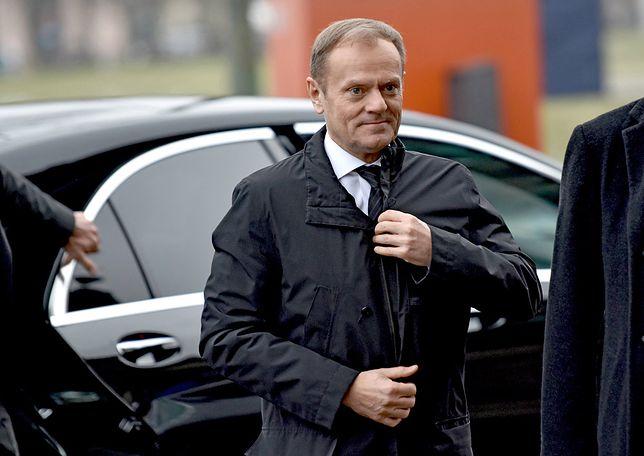 Donald Tusk w prokuraturze. Ostre słowa przed wyjazdem z Sopotu