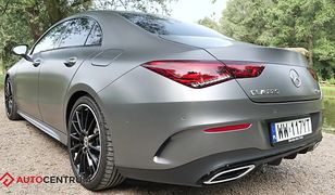 Mercedes CLA - jak nie krakać między wronami