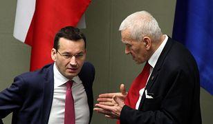 Kornel Morawiecki nie będzie w jednej partii z synem