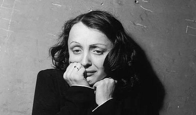 Brudna twarz Edith Piaf