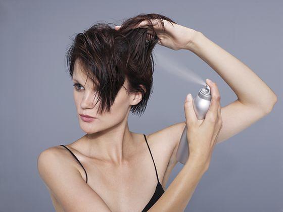 Lekka i puszysta fryzura