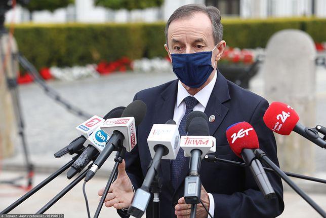 Marszałek Senatu Tomasz Grodzki poinformował o przesunięciu zaplanowanego posiedzenia izby