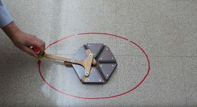 Elipsograf, czyli cyrkiel Archimedesa - jak działa to narzędzie? Zobacz wideo!