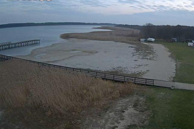 Mazury. Tak znika jezioro Roś w Piszu.