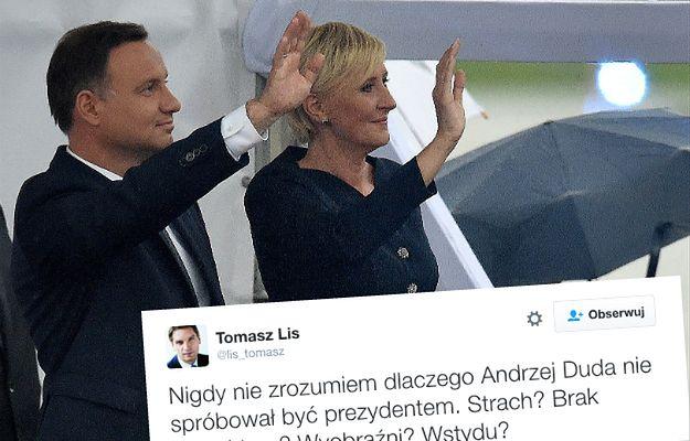 Tomasz Lis w jednym zdaniu podsumował prezydenturę Andrzeja Dudy