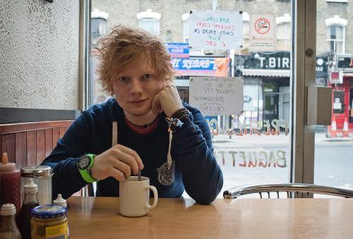 Ed Sheeran fot. Dan Curwin Ed Sheeran fot. Dan Curwin