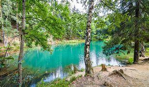Kolorowe jeziora