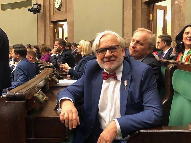 Wojciech Maksymowicz zrezygnował w środę z członkostwa w klubie PiS