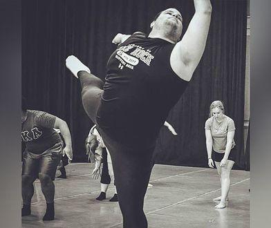Walczy z otyłością, ale postanowił zostać baletmistrzem